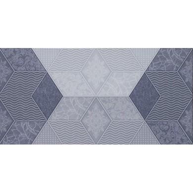 Декор 25х50 Фадо син гланц