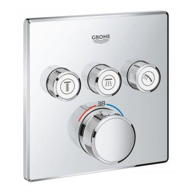 Термостат за вграждане Grohtherm SmartControl 29126000 с 3 извода