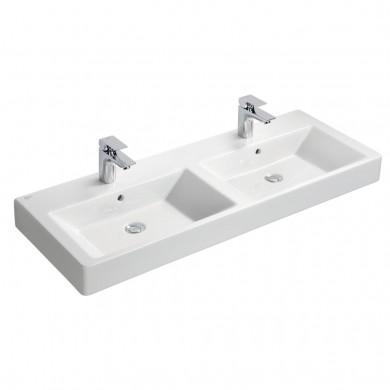 Двойна мивка Strada 121 см за вграждане K079101