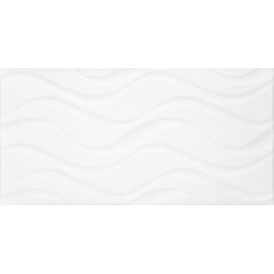 Фаянс 25х50 Изола вълни бяла