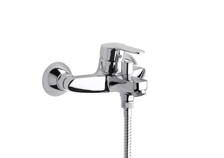 Външен смесител за вана-душ Victoria с автоматичен превключвател, без аксесоари A5A0225C00
