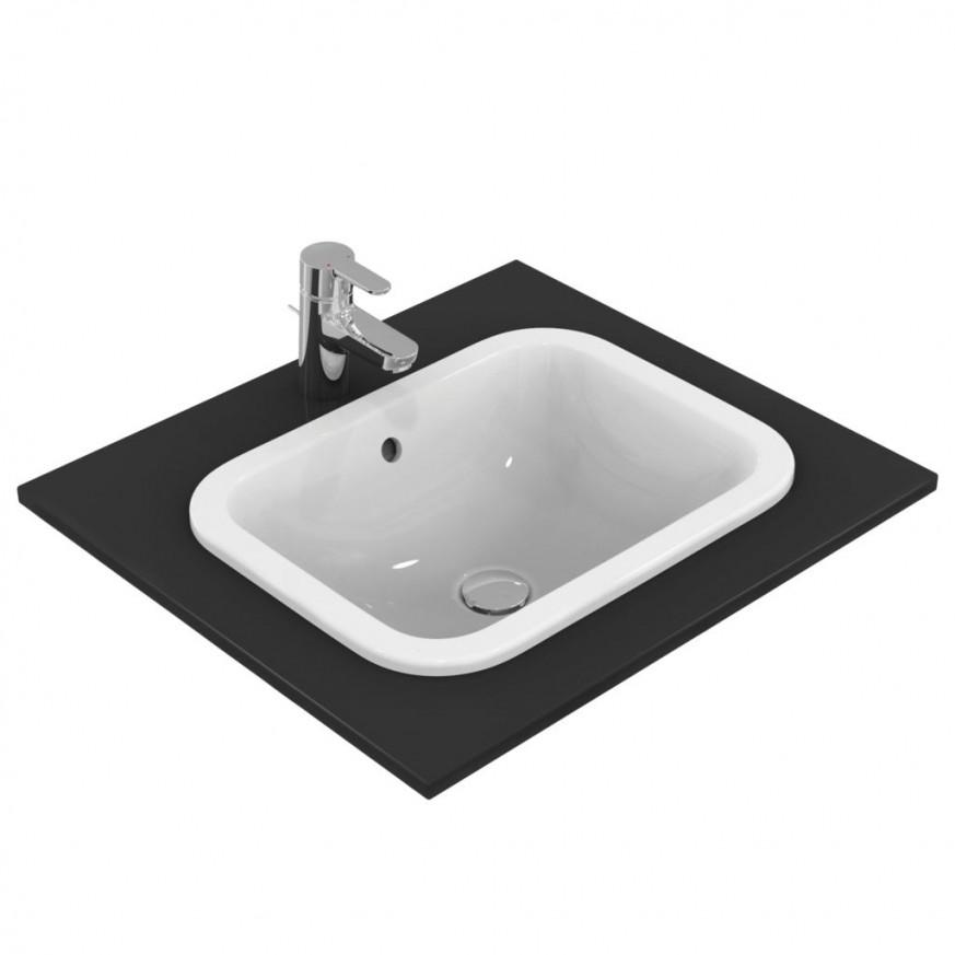 Мивка за вграждане 50 см без отвор за смесител Connect E505701