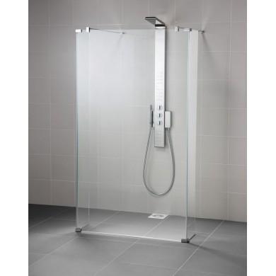 Душ параван SYNERGY Wetroom - двустранен достъп с допълнителни ъглови панели