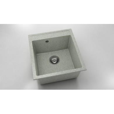 Единична мивка 46х51 см от граниксит 224