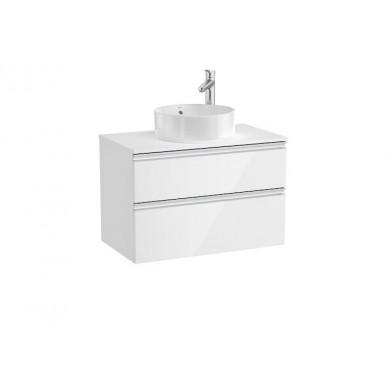 Долен шкаф GAP 851501806 80см бял гланц без мивка