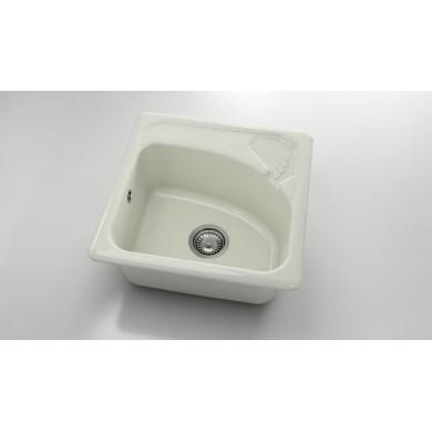Мивка със сапунерка  от полимермрамор 201