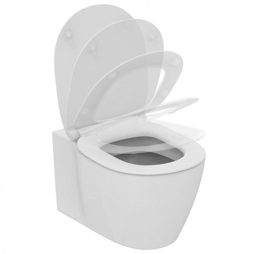 Конзолна тоалетна чиния Connect без тоалетна седалка  E771801