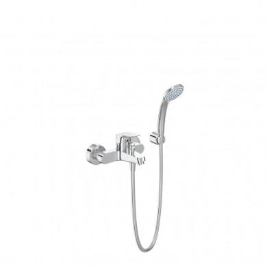 Стенен смесител за вана-душ с аксесоари Ceraflex B1722AA