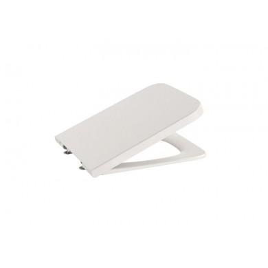Седалка и капак Inspira Square SUPRALIT® за тоалетна чиния, със забавено падане бежова A80153265B