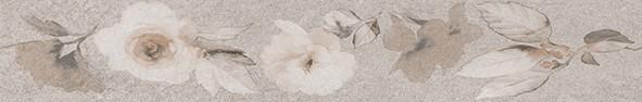 Фриз 8х50 Калисто цветя сив