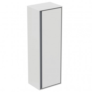Колона ниска бял лак гланц+ светлосив лак Connect Air E0834KN
