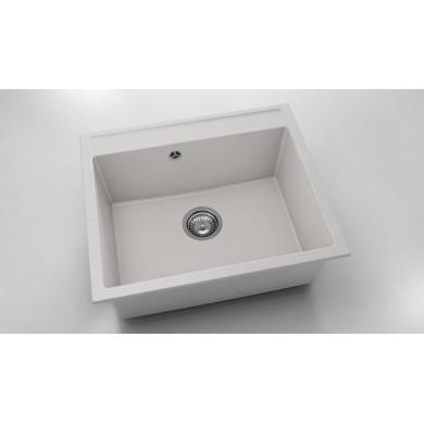 Единична мивка 60х51 см от фатгранит 227