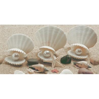 Декор 25x50 Неос  пясък