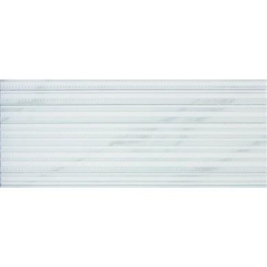 Декор 23,5x58  Lines senses white