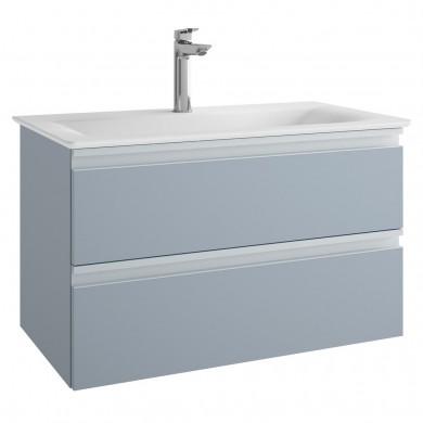 Шкаф за мивка 80 см Tesi син мат Т0051WI