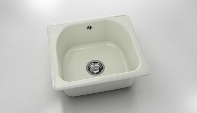 Единична мивка от полимермрамор 207