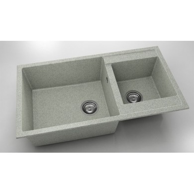 Кухненска мивка с две корита 90х49см от граниксит 234
