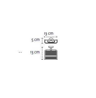 Сапунерка мрежа Modern 2303