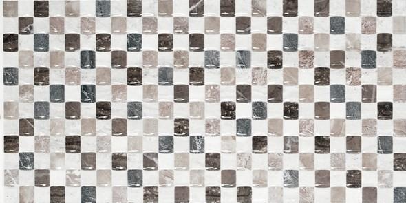 Декор 25x50  Бета мозайка