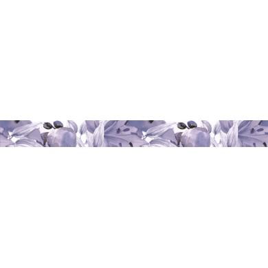 Фриз 5х50 цветя лилав