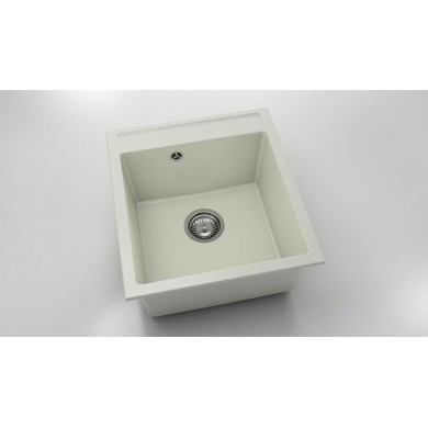 Единична мивка 46х51 см от полимермрамор 224