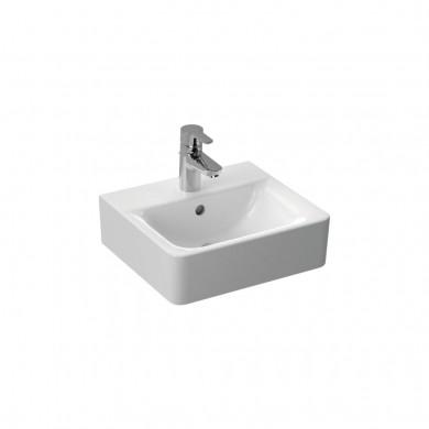 Малка мивка Cube 40 см Connect с отвор за смесител и преливник E803301