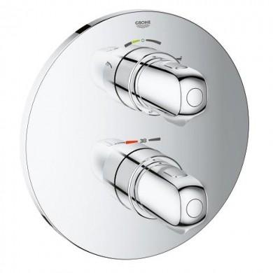 Термостат за вана/душ Grohtherm 1000 с вграден двустепенен превключвател 19986000