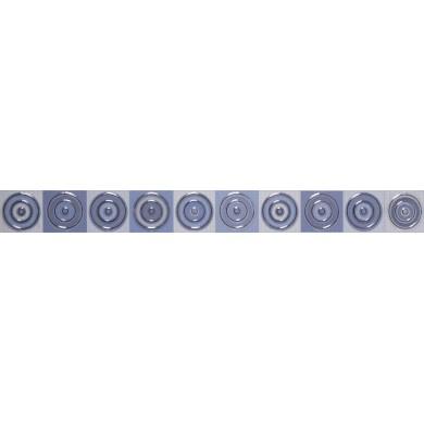 Фриз 5х50 Универсал кръг син 2752