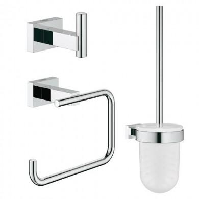 Комплект аксесоари за баня Essentials Cube 3 в 1 40757001