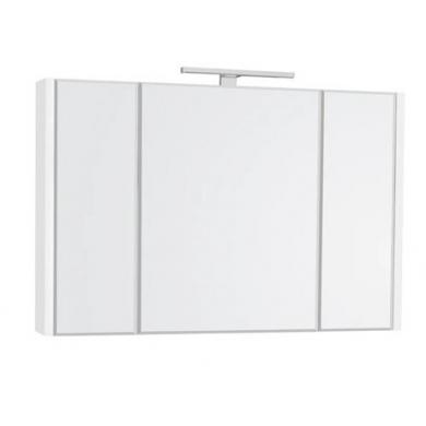Горен шкаф с огледало Etna 100см бял A857522806