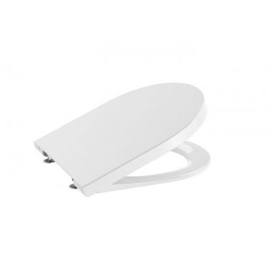 Седалка и капак Inspira Round Compact със забавено падане цвят бял A80152C64B