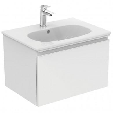 Шкаф за мивка 60 см Tesi бял гланц Т0046OV