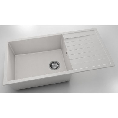 Кухненска мивка с ляв-десен плот 95х49см от фатгранитт 230