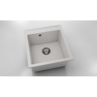 Единична мивка 46х51 см от фатгранит 224