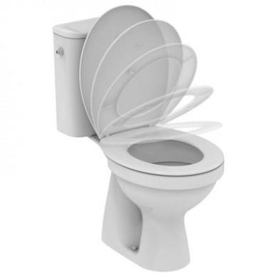 WC комплект Ulysse S W835901 вертикално оттичане странично захранване плавно затваряне