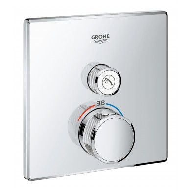Teрмостат за вграждане за душ Grohtherm SmartControl 29123000