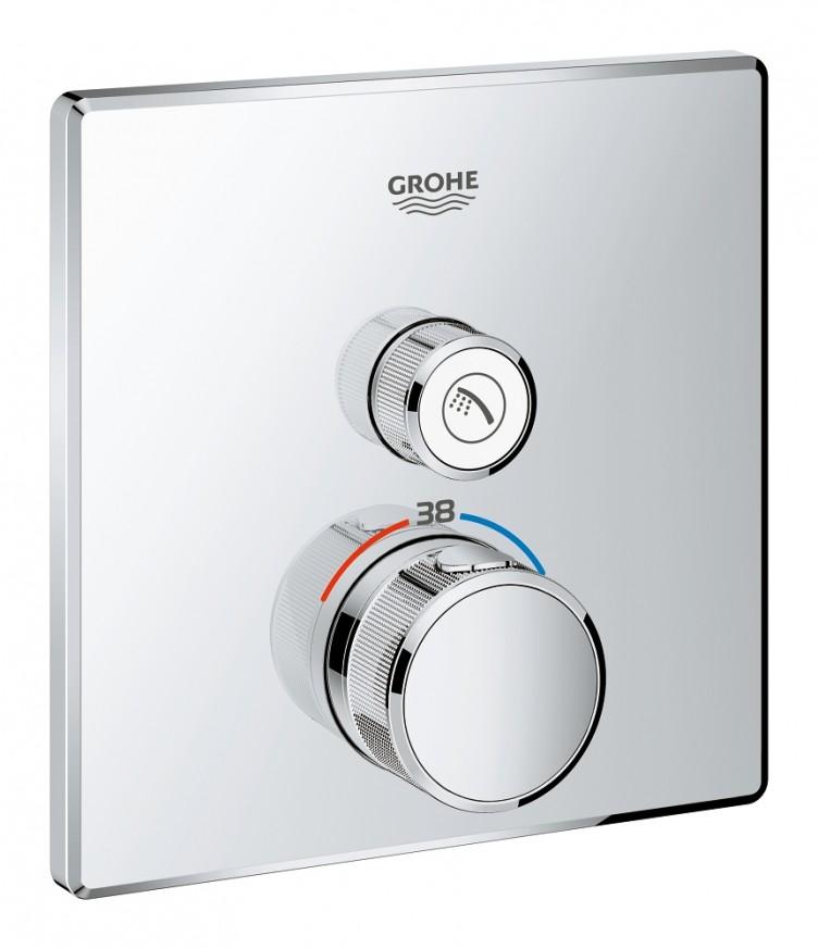 Teрмостат за вграждане за душ Grohtherm SmartControl 29123000