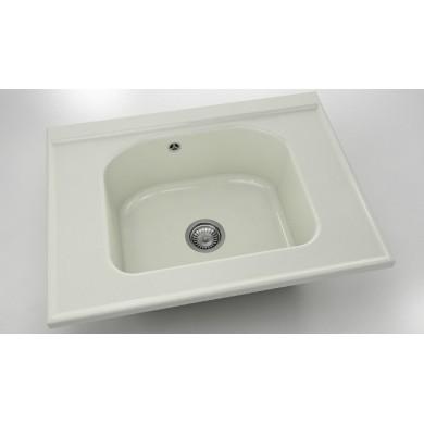 Модулна мивка 80х60 см от полимермрамор 218