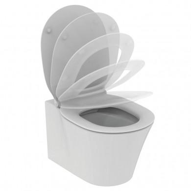 Конзолна тоалетна чиния без ринг Connect Air без капак Е015501