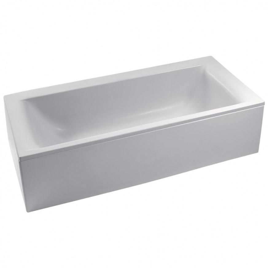 Правоъгълна вана за комбинация с панели 180x80 cm Connect E019801