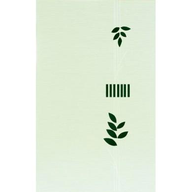 Декор 25х40 Лотос зелен