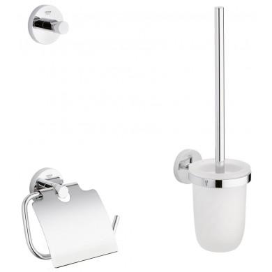 Комплект аксесоари за баня 3 в 1 Essentials 40407001