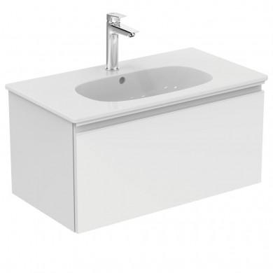 Шкаф за мивка 80 см Tesi бял гланц T0047OV