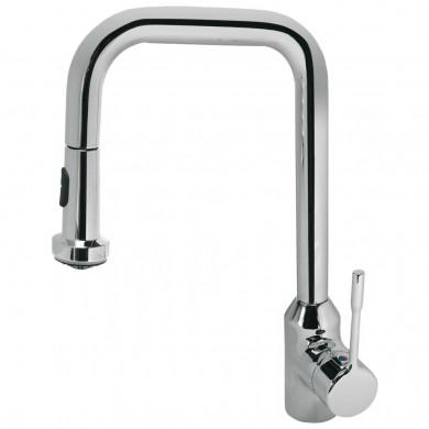 Стоящ смесител за кухня с изтеглящ душ Retta B8989AA