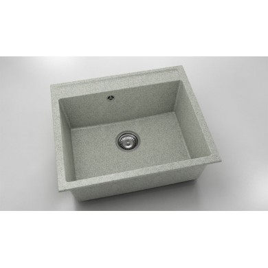 Единична мивка 60х51 см от граниксит 227