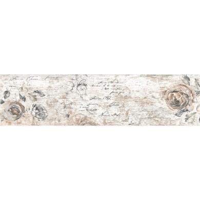 Гранитогрес 15.5x60.5 Ботега винтидж декор 9809