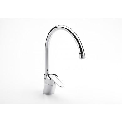 Смесител за кухненска мивка Victoria с висок въртящ се чучур и аератор A5A8425C00