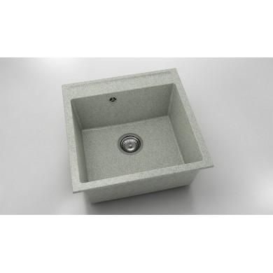 Единична мивка 51х51 см от граниксит 225
