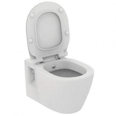 Конзолна тоалетна чиния Connect с бидетна арматура  E781901