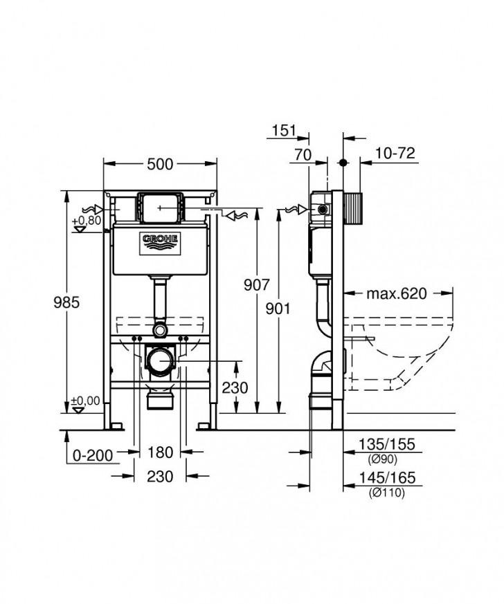 Rapid SL за WC 38525001